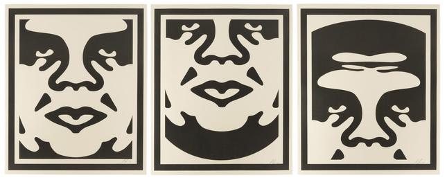 Obey Giant Triptych