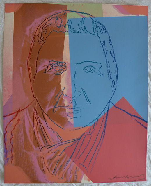 Andy Warhol, 'Gertrude Stein II.227 from Ten Portraits of Jews of the Twentieth Century portfolio', 1980, Hamilton-Selway Fine Art