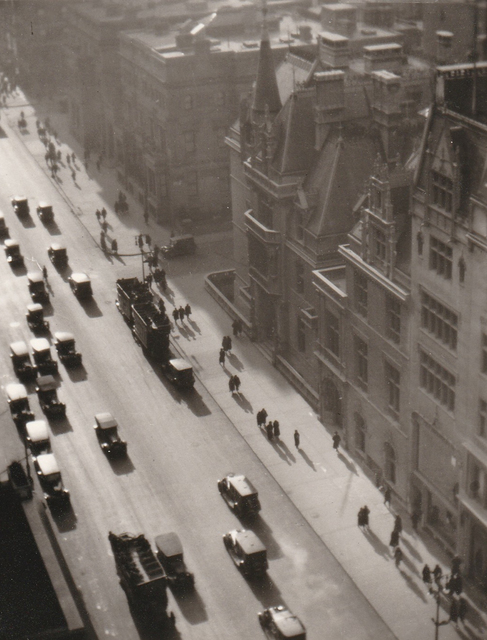 , 'Misty Day on Fifth Avenue,' 1923, PDNB Gallery