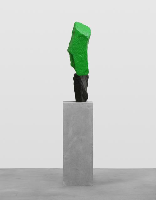 , 'black green mountain,' 2016, Galerie Eva Presenhuber