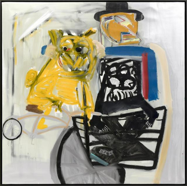 Danny Minnick, 'Louie and Flip taking you on a New York basket ride', 2018, Geuer & Geuer Art