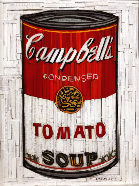 , 'Monumnet - Campbell's Soup (Red & White),' 2018, BLANK SPACE
