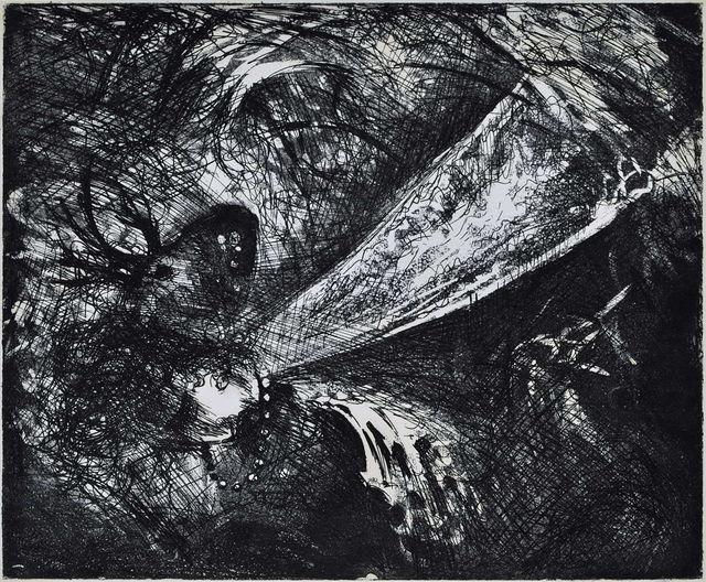 Arthur Boyd, 'Falling Figure With Beast's Head', 1963, Angela Tandori Fine Art