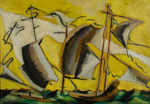 Jean Lurçat, 'Les bateaux', 1931, Rosenberg & Co.