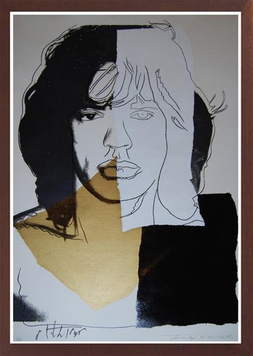 Andy Warhol, 'MICK JAGGER (F. & S. II.146)', 1975, Robin Rile Fine Art