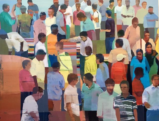 , 'Market #5,' 2017, Andrea Schwartz Gallery