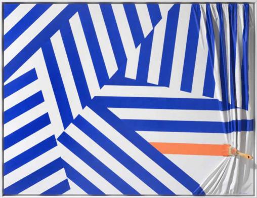 , 'BROSSE ARRÊTEE ORANGE,' , Galerie Vivendi