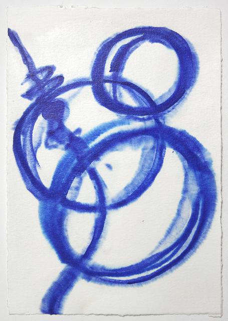 , 'Untitled (Blue Drawing),' 2010, Umberto Di Marino