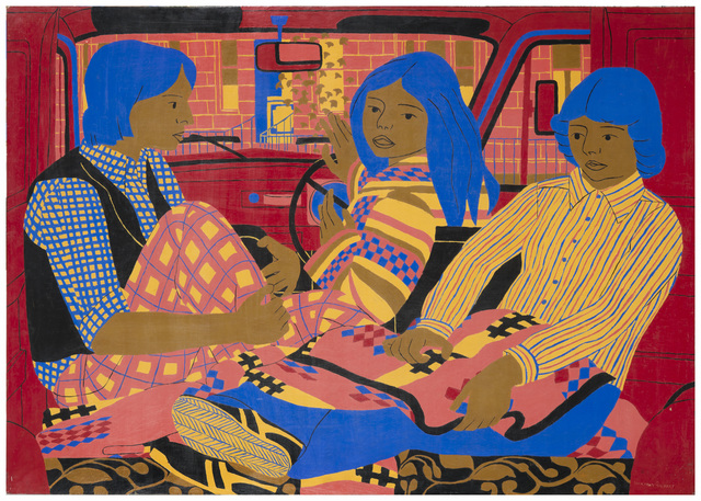 , 'The Red Van,' 1977, Tatha Gallery