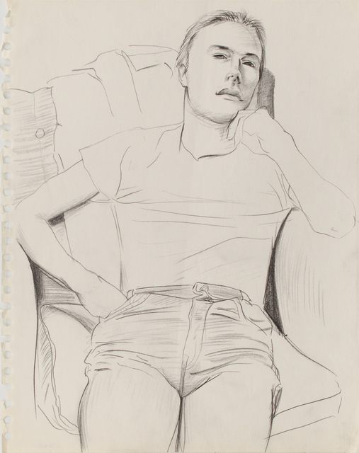 , 'Untitled ( Figure in Chair ),' ca. 1980, Galerie Thomas Fuchs