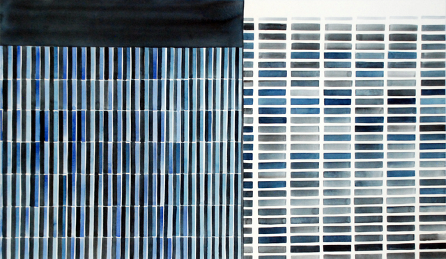 , 'Downtown Black, White and Grey,' 2017, Jonathan Ferrara Gallery