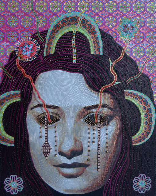 , 'Djamila,' 2018, Lawrie Shabibi