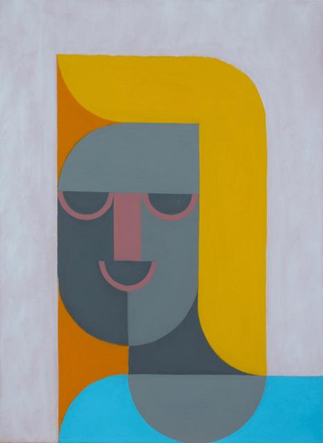 Leonhard Hurzlmeier, 'Robotic Blonde', 2018, Rachel Uffner Gallery