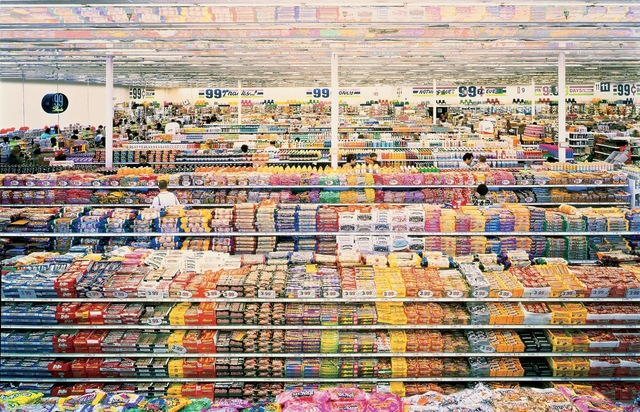 Andreas gursky 99 cent 1999 artsy for Michaels crafts los angeles