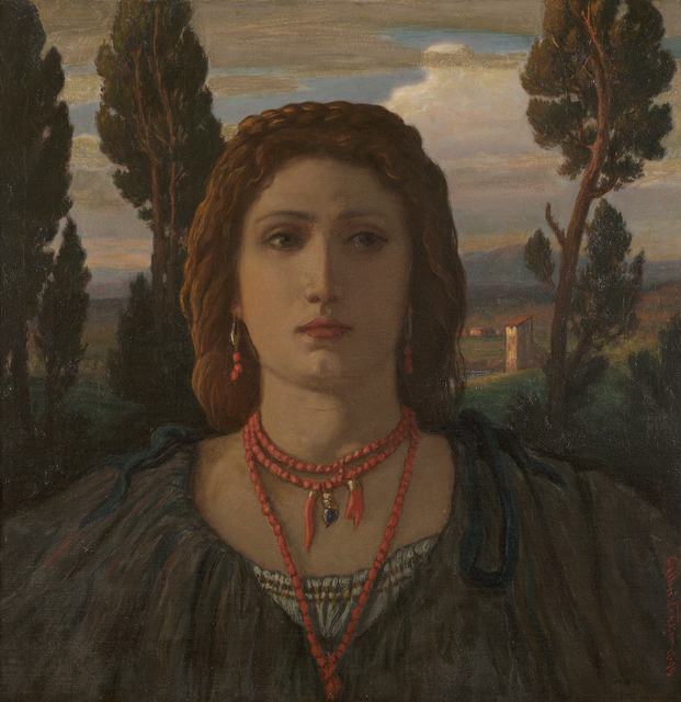 , 'The Coral Necklace, Italy,' 1898, Debra Force Fine Art