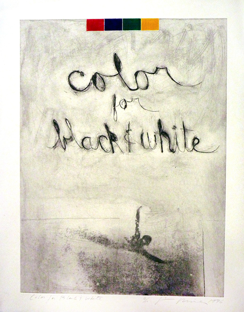 , 'Color For Black and White,' 1976, Sylvia White Gallery