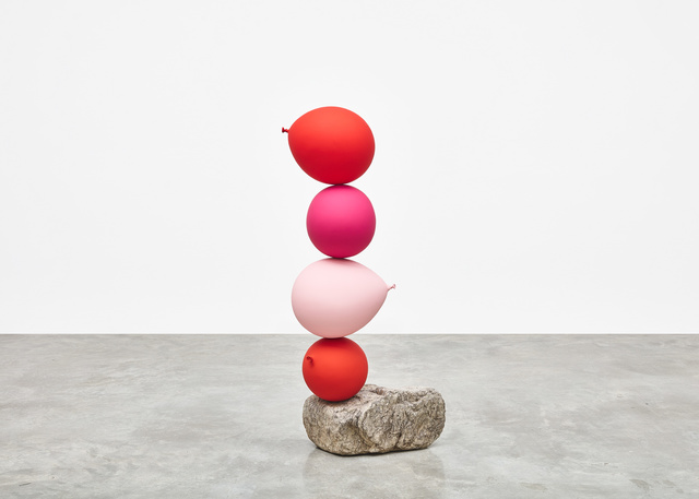 , 'Untitled (Short People) Red, Pink, Pink, Red,' 2018, Tina Kim Gallery