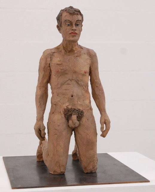 Stephan Balkenhol, 'Kneeling Man', 2012, Korff Stiftung GmbH
