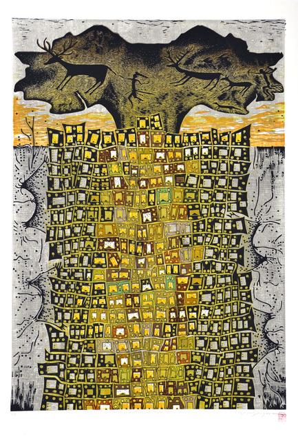, 'Life at Çatalhöyük I - Çatalhöyük'te Yaşam I,' 2012, Anna Laudel