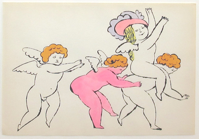 Andy Warhol, 'In The Bottom of my Garden IV.100A', 1956, Print, Lithograph with watercolor, Hamilton-Selway Fine Art