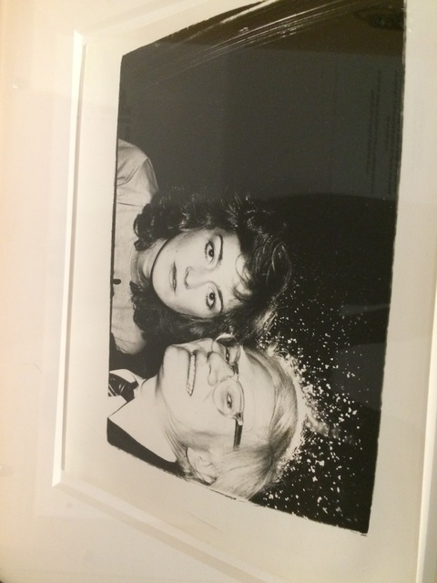 Andy Warhol, 'Andy Warhol, Photograph with Catherine Guinness circa 1981', ca. 1981, Hedges Projects