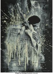 Jimi Hendrix (white)