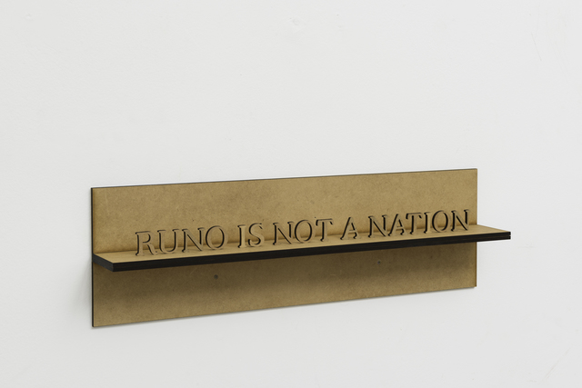 , 'Runo is not a Nation,' 2011, Mendes Wood DM