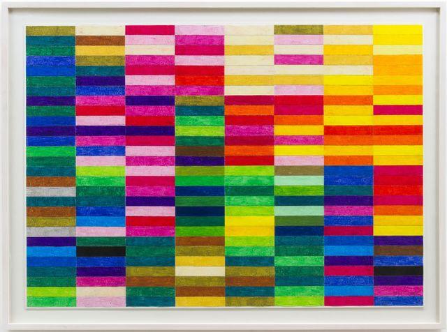 Hermann Nitsch, 'Ohne Titel (Farbskala)', 2019, Galerie Elisabeth & Klaus Thoman
