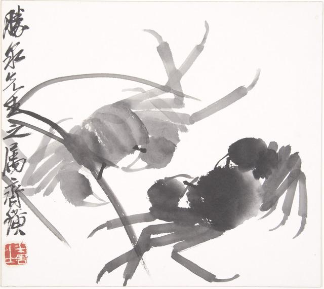 Qi Baishi, 'Crabs,' ca. 1930, Noguchi Museum