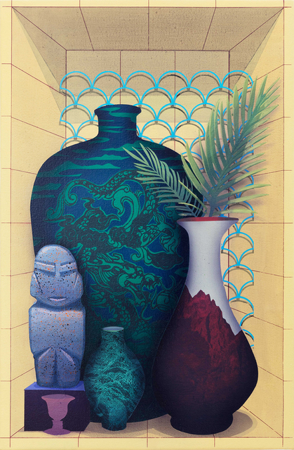 Robert Minervini, 'The Excluded (2 Vases)', 2019, Hirschl & Adler