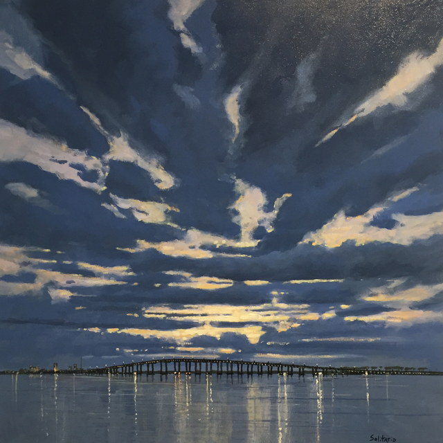 , 'Blue and Gold Evening,' , LeMieux Galleries