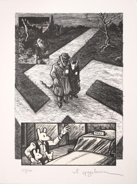 , 'Crossroads,' 1997, Marlborough Graphics