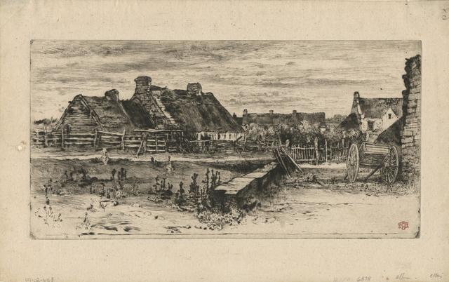 , 'Les Grandes Chaumières,' 1881, Childs Gallery