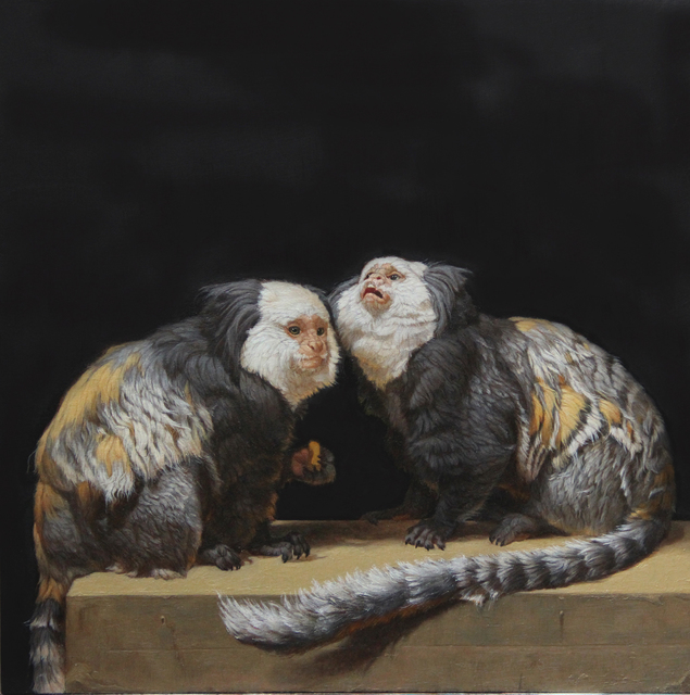 , 'Captive Geoffrey's Marmosets,' 2014, Gallery Henoch