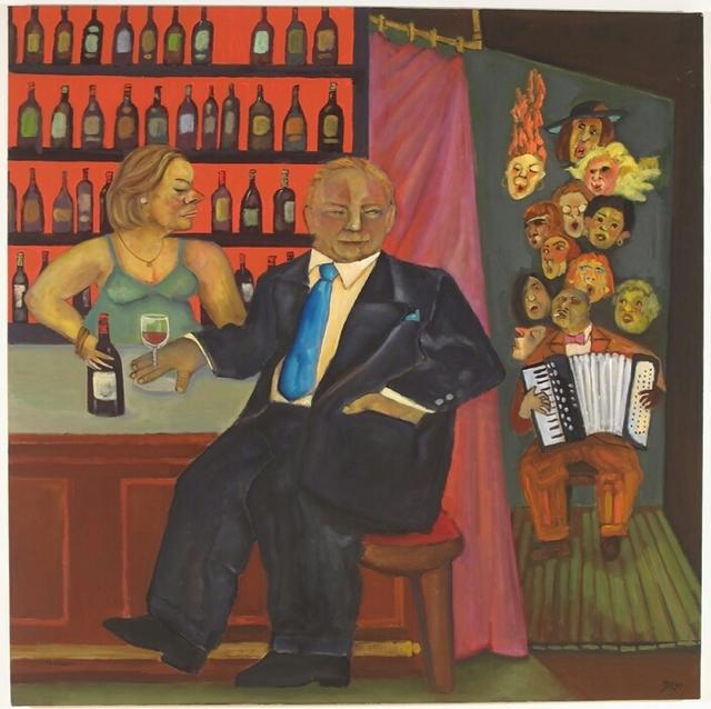 , 'Cafe Max,' 2006, Tabla Rasa Gallery