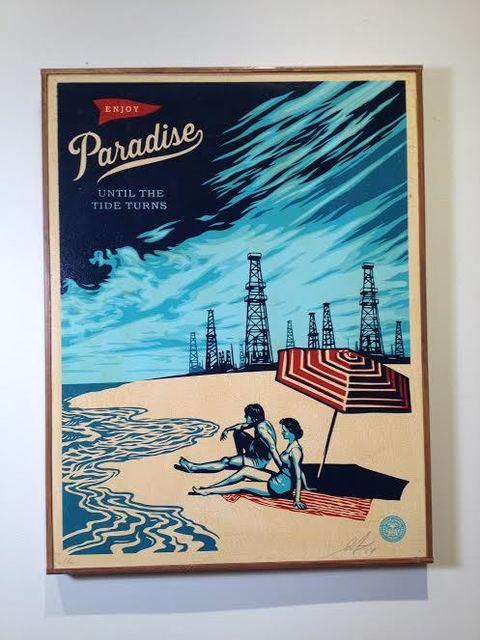 Shepard Fairey, 'Paradise Turns', 2014, Vertu Fine Art