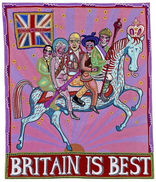 , 'Britain is Best ,' 2014, Maddox Gallery