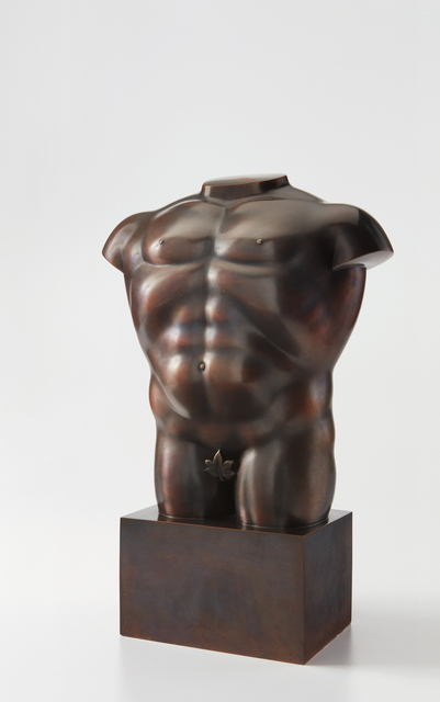 Fernando Botero, 'Male Torso with Leaf', ca. 1992, Phillips