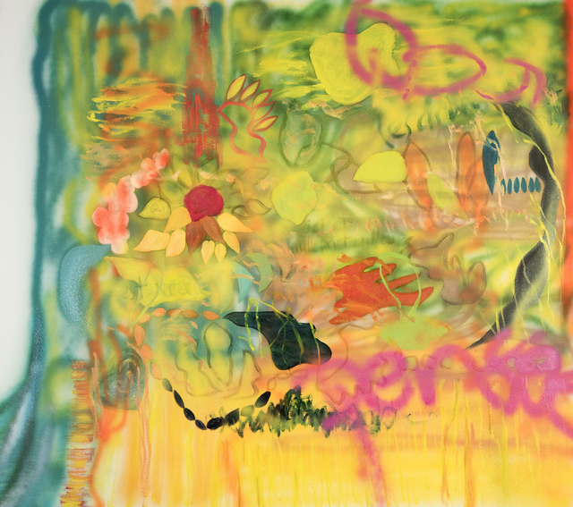 , 'Blazing Jungle,' 2016, Walter Wickiser Gallery