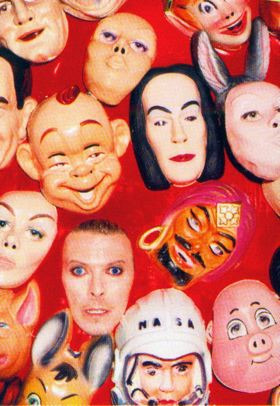 , 'David Bowie:  Face Masks ,' 1995, Helwaser Gallery