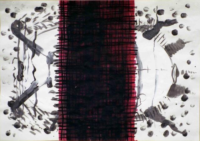 ", '""White bug"",' 1990, Krokin Gallery"