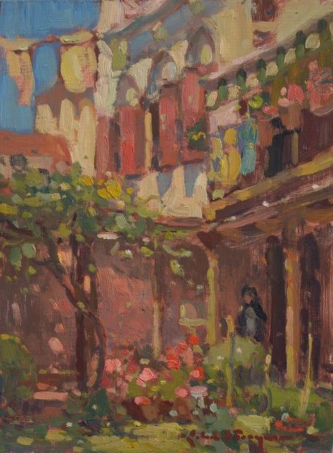 , 'Venetian Courtyard,' , J. Cacciola Gallery