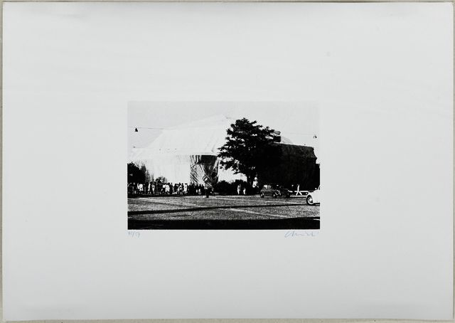 Christo, 'Verpackte Kunsthalle Bern', 1969, Koller Auctions