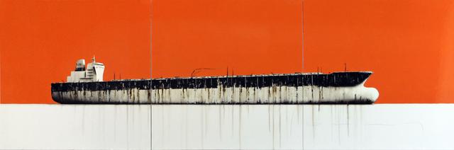 , 'Tanker 35 (triptych),' 2018, Massey Klein Gallery