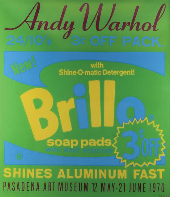 Andy Warhol, 'Brillo - Pasadena Art Museum', 1970, Bertolami Fine Arts