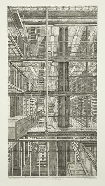 , 'Les Réserves est-ouest, from Le Magasin central des imprimés,' 2013, Childs Gallery