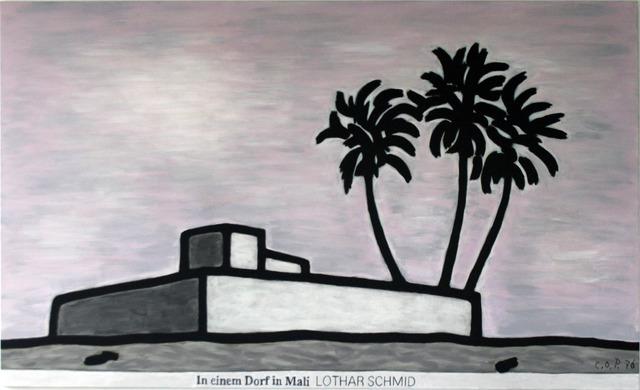 , 'In einem Dorf in Mali (Lothar Schmid),' 1976, Galerie Hans Mayer