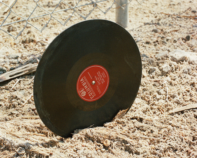 , 'Polka Record,' 2006, Gallery Luisotti