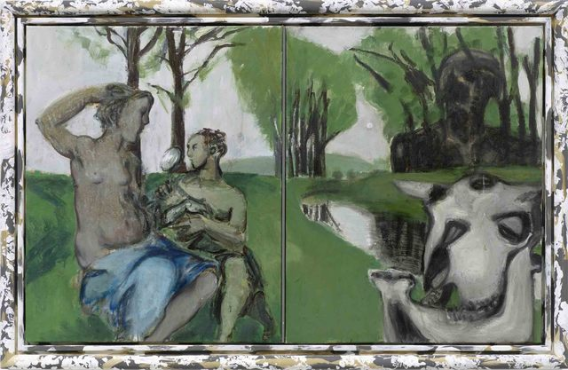""", '""""Die Toilette (Märkisch)"""",' 2014, Michael Werner Gallery"""