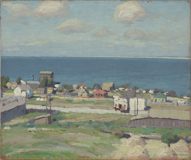 , 'The Blue Bay: Monterey,' 1915, de Young Museum